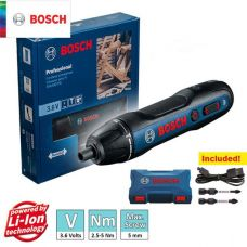پیچ گوشتی شارژی 3.6 ولت مدل BOSCH-GO2